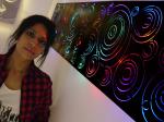 Birmingham 'Painting with Light' artist Sonia Bhamra
