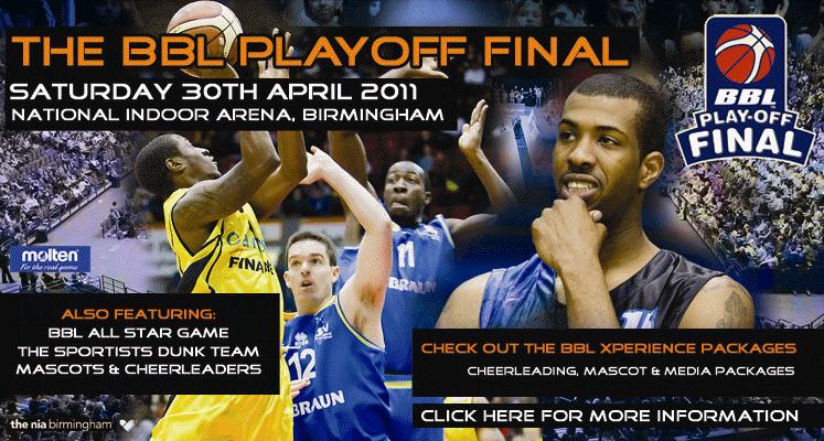 British Basketball Playoff Final 2011