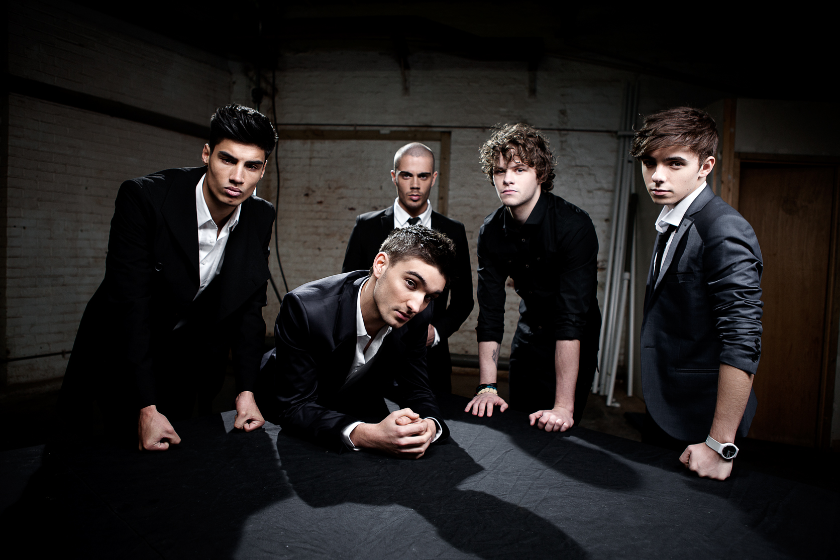 The Wanted are at the LG Arena in Birmingham in March, 2012