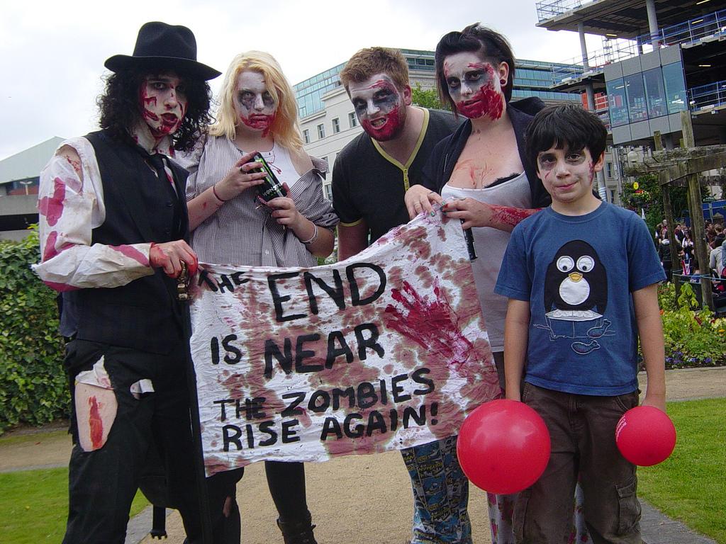 Birmingham Zombie Walk 2011   Image: Adam Yosef