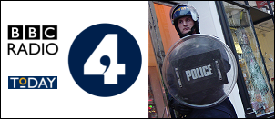Radio 4 'The Today Show' discusses the Birmingham Riots 2011