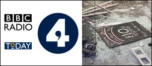 Radio 4 'The Today Show' discusses the Birmingham Riots 2011
