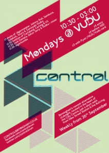 'Control' night from Counteract Magazine at the Vudu club in Birmingham