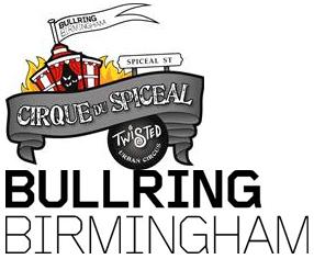 Cirque Du Spiceal logo Bullring Birmingham