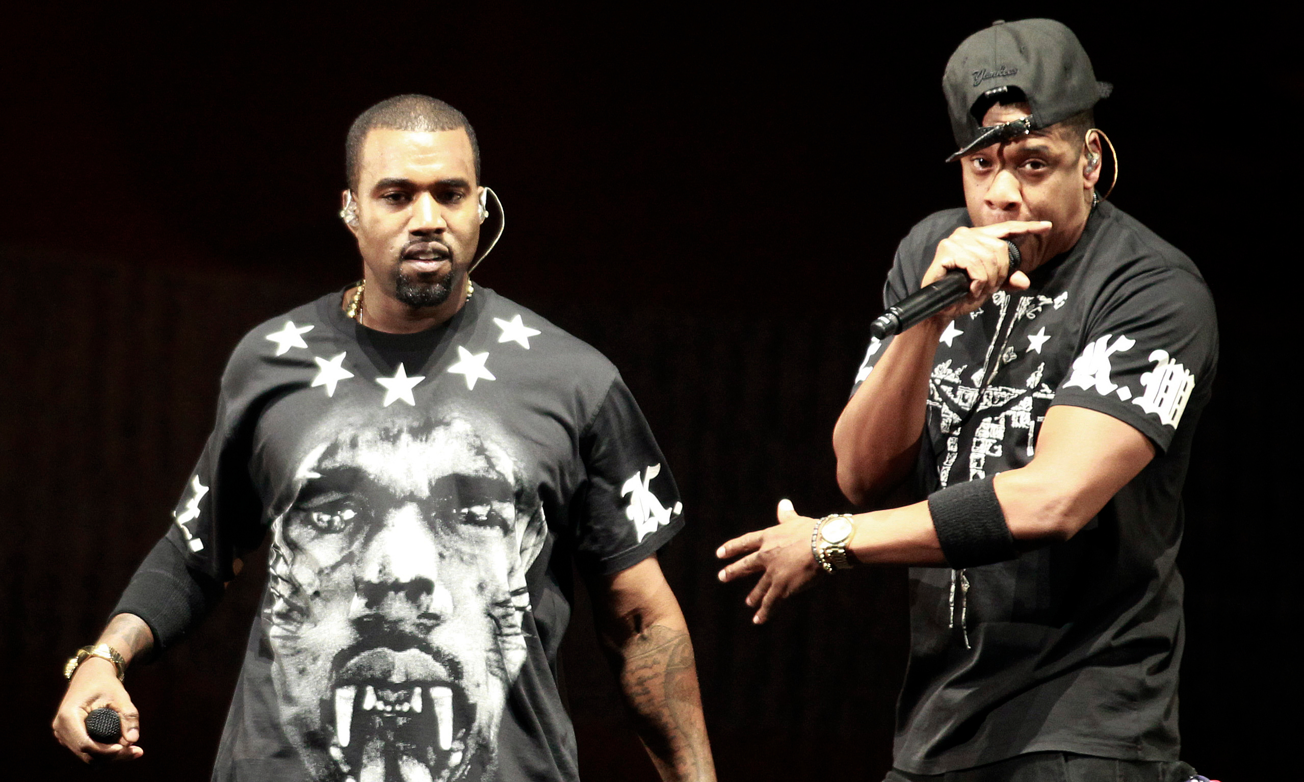 Jay Z and Kanye West will be at the LG Arena in Birmingham 2012