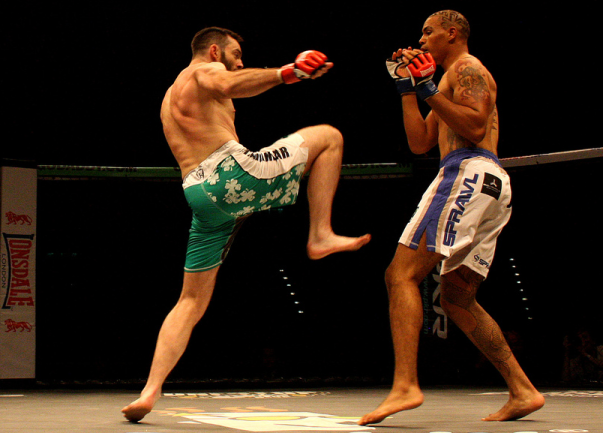 BAMMA 7 at the Birmingham NIA in 2011, Photograph by Will Gregson