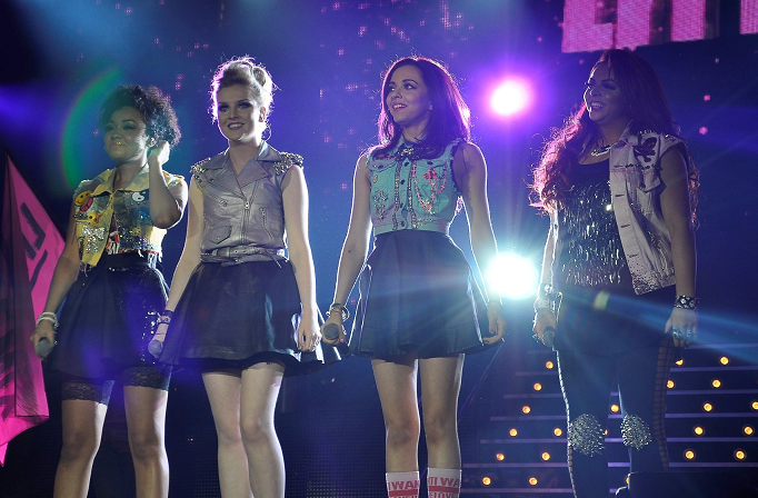 Little Mix at X Factor Live in Birmingham 2012