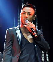 Marcus Collins at X Factor Live in Birmingham 2012