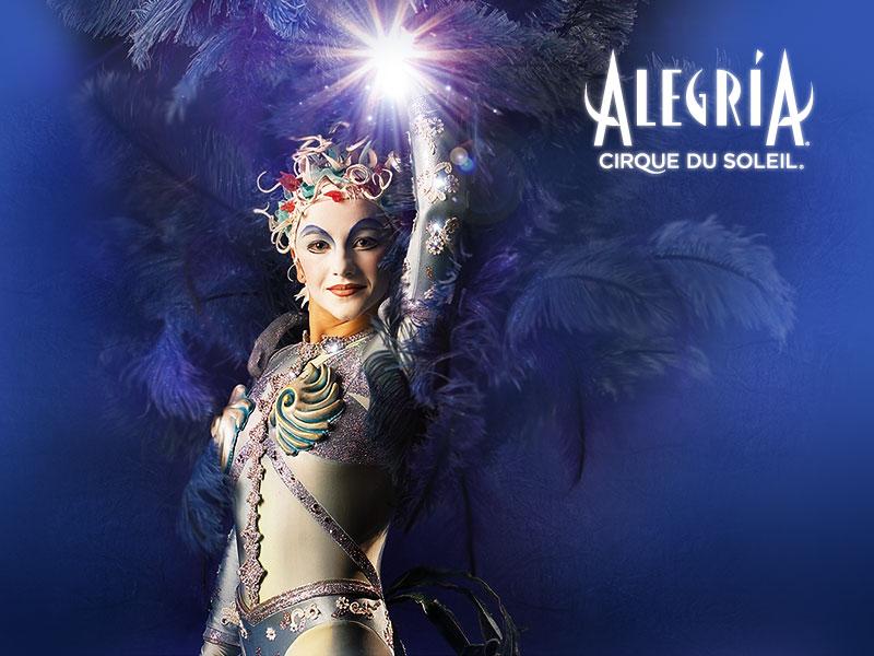 Cirque du Soleil 'Alegria' at the Birmingham NIA in April 2012