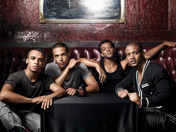 JLS at the Birmingham LG Arena on 17th April 2012