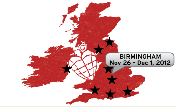 Green Day's hit musical 'American Idiot' comes to Birmingham's Alexandra Theatre in November 2012