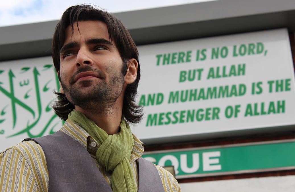 Eid 2012 in Birmingham with Sarmad Qusai at Birmingham Central Mosque