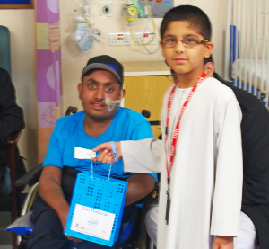 Green Lane Mosque Masjid donate Eid gifts to Heartlands Hospital