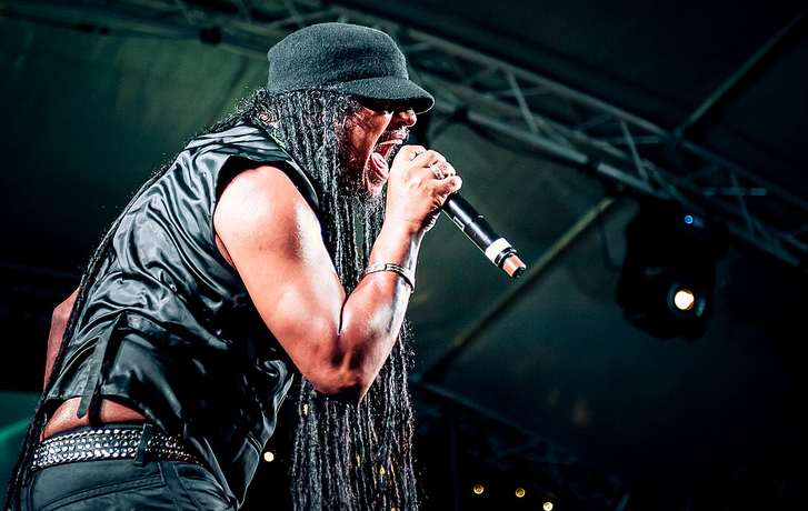 Maxi Priest at the Flyover Show 2012. Photo by Rob Gilbert.