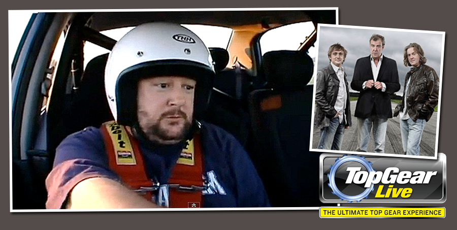 Johnny Vegas will be one of the 'Stars in a Reasonably Priced Cars' at Top Gear Live 2012