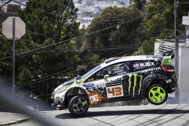 YouTube legend Ken Block ready to burn rubber at Top Gear Live