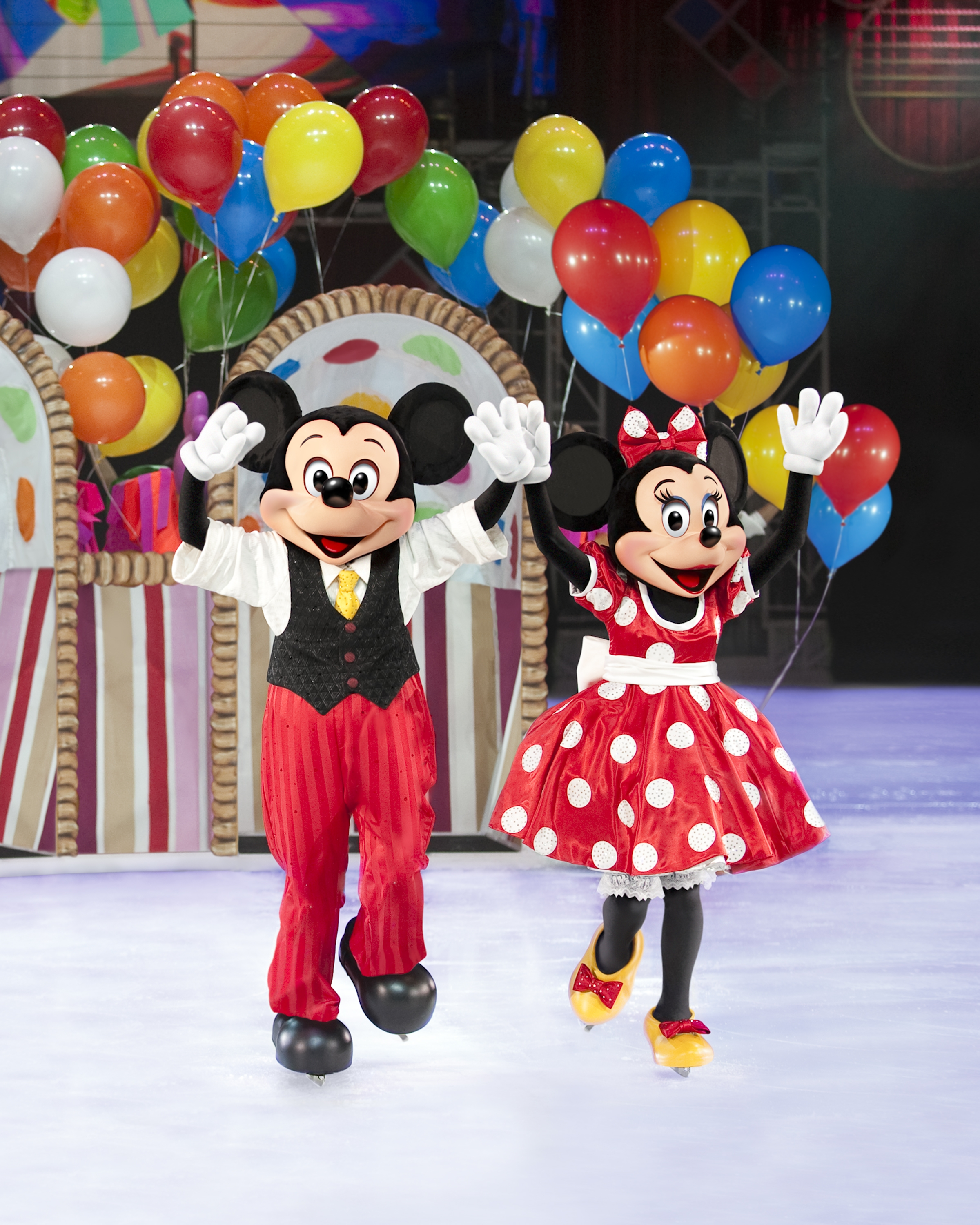 Disney On Ice Lets Party at the Birmingham LG Arena in February 2013