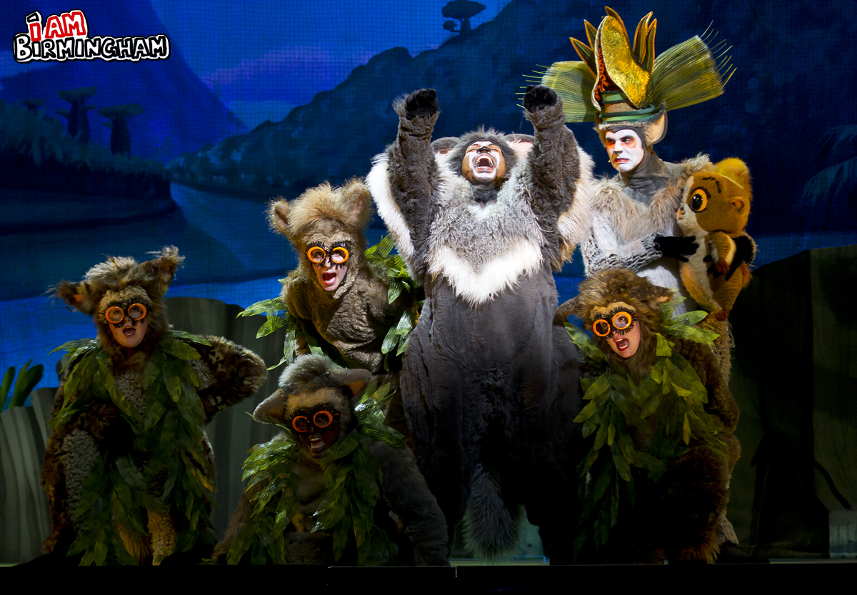 Madagascar Live at the Birmingham LG Arena in January 2013