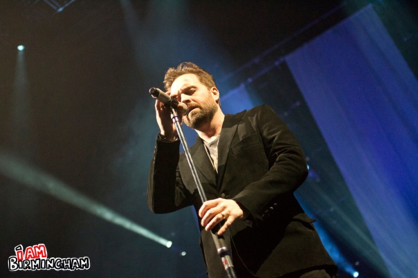 Alfie Boe performsto a sold out venue at The NIA in Birmingham. (Photograph: Jack Kirby)