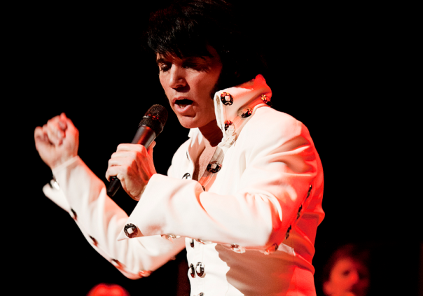 Elvis Presley tribute act Lee Memphis King