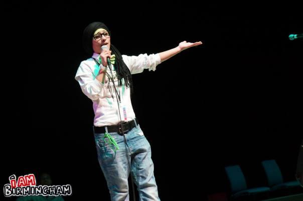 Beatfreeks spoken word artist Amerah Saleh at the Soul Sessions event in Birmingham