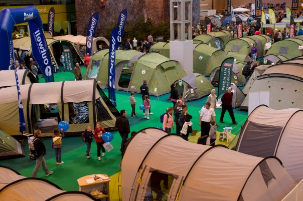 The Caravan & Camping Show is on at the NEC Birmingham in February