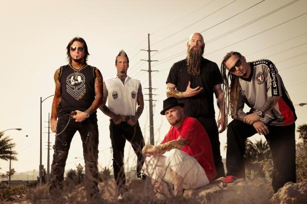 Five Finger Death Punch arrive at the O2 Academy on March 28th.
