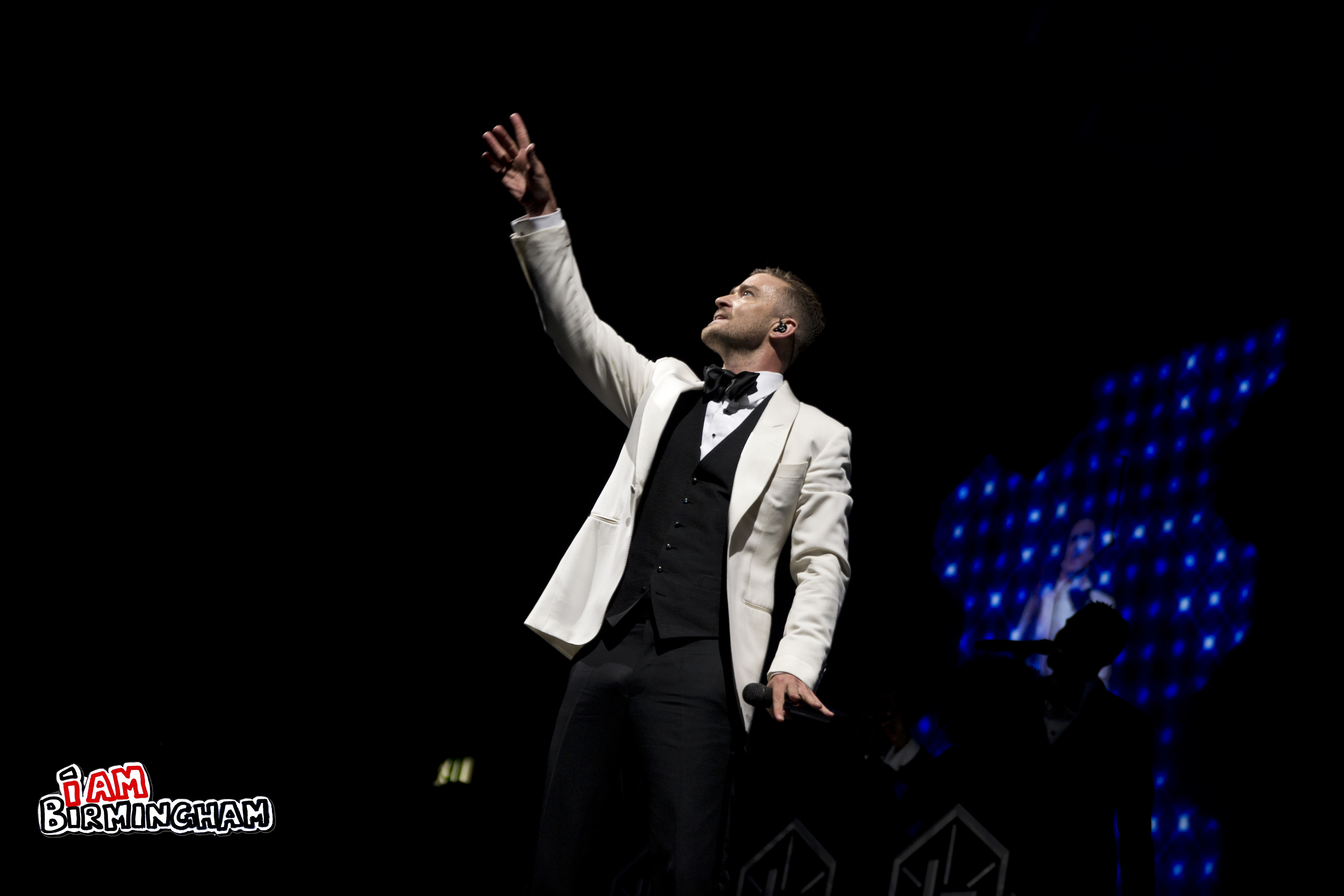 World-wide phenomenon Justin Timberlake filled the LG Arena