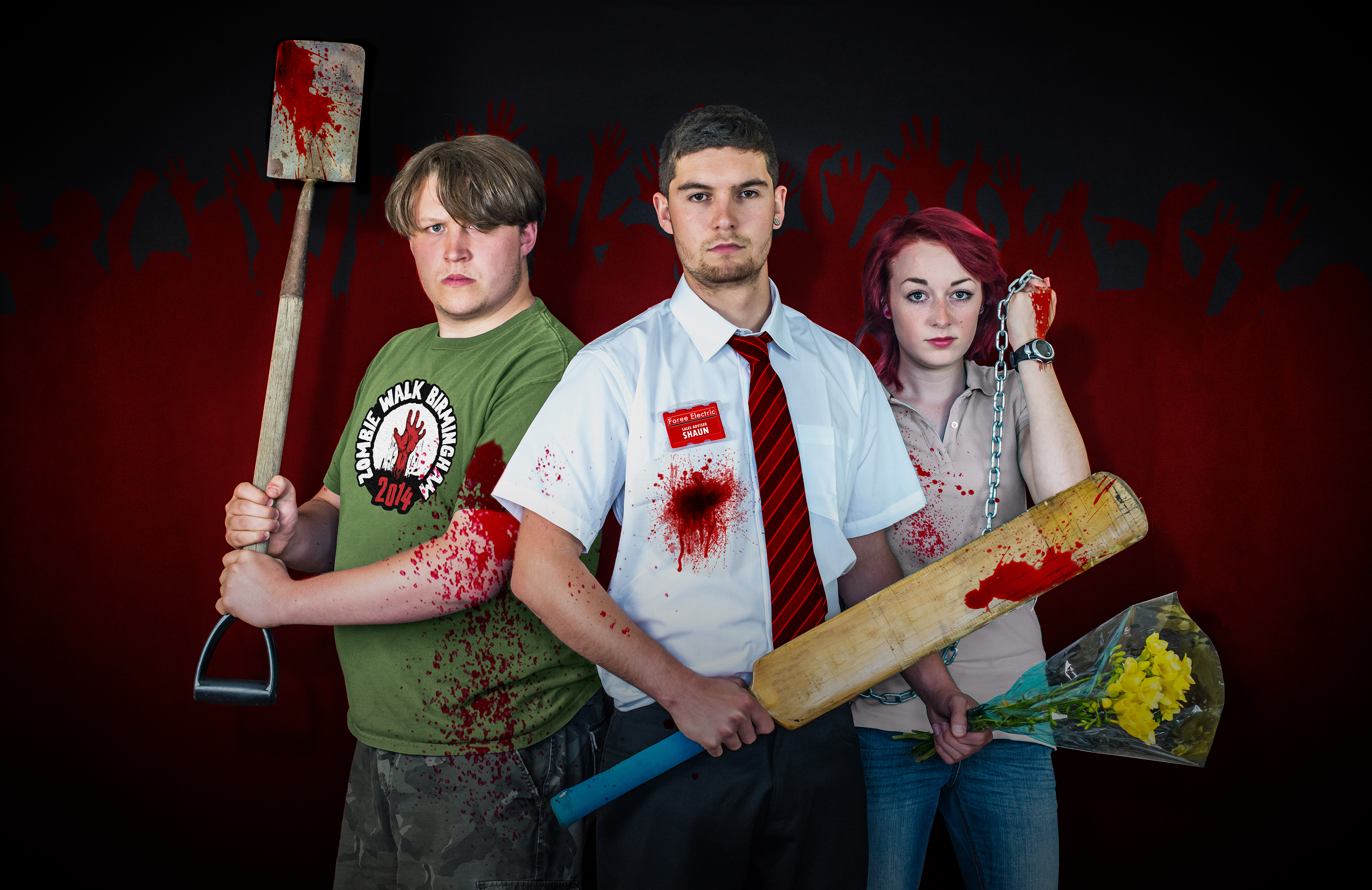Zombie fans will be dressing up as Simon Pegg's character from film Shaun of the Dead, all for charity