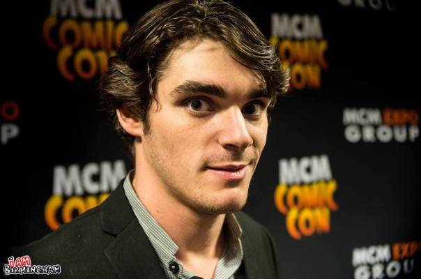 Breaking Bad actor RJ Mitte at the MCM Expo Comic Con in Birmingham (Photograph: Jack Kirby)