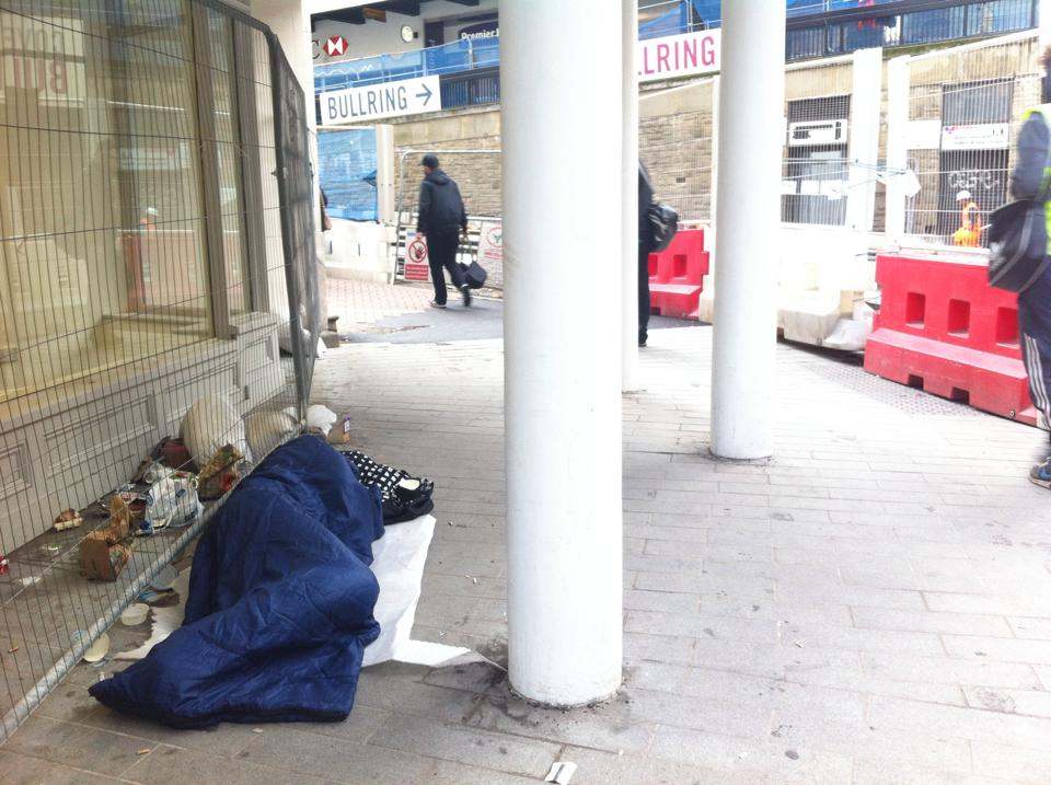 Homelessness in Birmingham has risen by 25% since 2009 (Photograph: Adam Yosef)