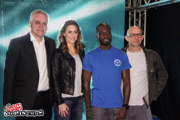 Gadget Show presenters presenters Jason Bradbury, Jon Bentley, Ortis Deeley and Amy Williams will be at the live show in Birmingham (Photograph: Adam Yosef)