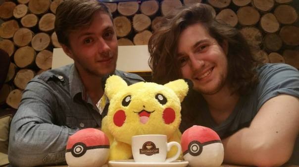 Conor Court and Harvey McDonald have been working to organise BIrmingham's first ever Pokémon walk