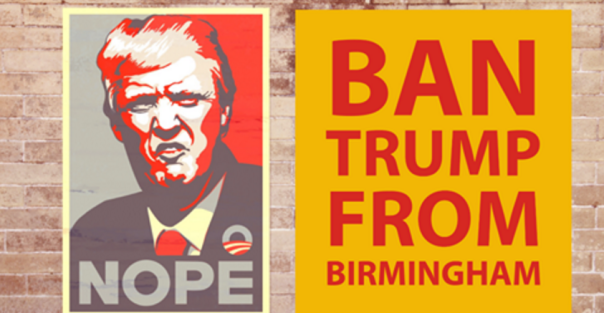 Liam Byrne MP has called for Donald Trump to be banned from Birmingham, following news that his UK state visit may be relocated from London to the Midland city