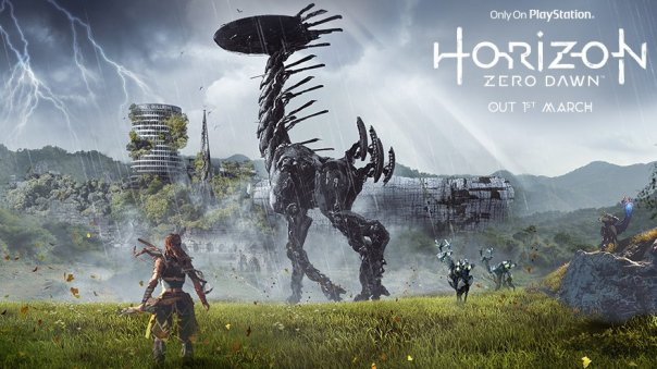 Upcoming action role-playing video game Horizon: Zero Dawn launches in the UK on the 1st March (Image: Sony Interactive)
