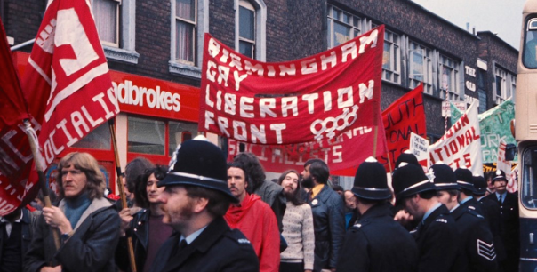 An exhibition will be held at the LGBT centre in Birmingham, exploring the Gay Liberation Front during the 1970s (Image: GLF)