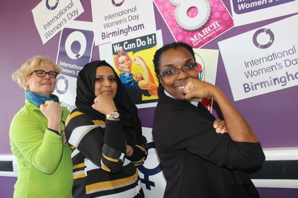 The Amirah Foundation is leading the charge in Birmingham on International Women's Day, co-organising and supporting several city events celebrating women (Photograph: Amirah Foundation)
