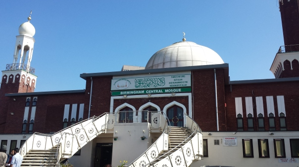 The Birmingham Central Mosque in Highgate on Friday, April 7 (Photograph: Adam Yosef)