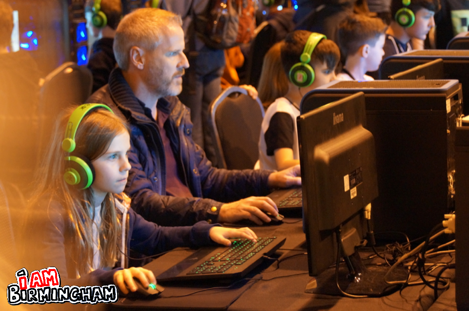 Gamers of all ages are expected to visit Birmingham for Insomnia 60 (Photograph: Adam Yosef)